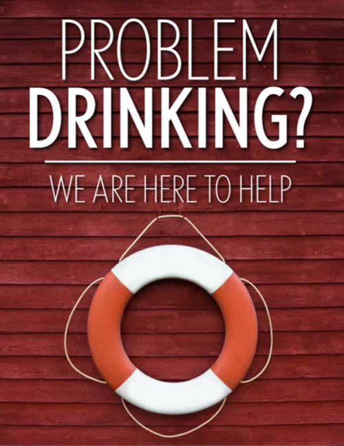 Are you a problem drinker. we are here to help